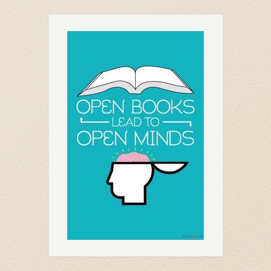 Open-books-lead-to-open-minds-read-poster