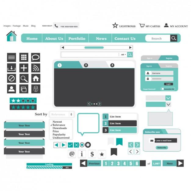 light-blue-website-design-elements_1073-47